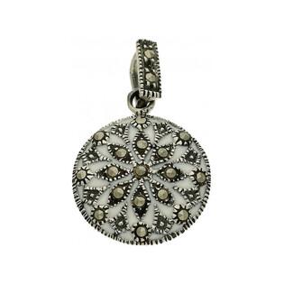 Zawieszka srebrna z kolekcji Art Deco numer MLZK0417 Sezam - 1
