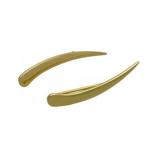 Kolczyki na płatek łuk blask AR XE11968 próba 333 Sezam - 1
