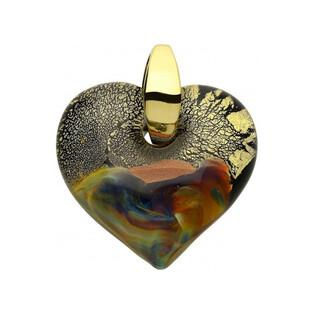 Serce wykonane ze szkła Murano numer KQ0001 serce Murano - 1