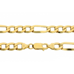 Łańcuszek figaro OS ALV 3+1-6L 160 dm próba 585 Sezam - 1