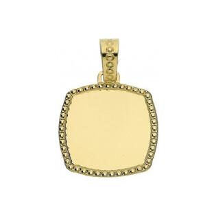 Zawieszka złota blaszka FL19-Z Sezam - 1