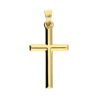 Krzyżyk złoty gładki AR ISTP13867-CM próba 585