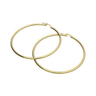 Kolczyki złote szarniry 50 mm nr OS 180-250-L Au 585 Sezam - 1