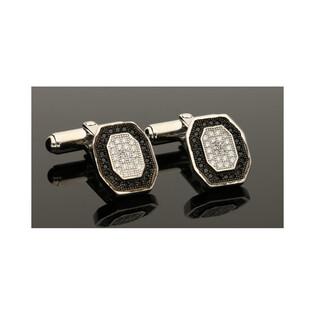 Spinki srebrne do mankietów nr JA218 Sezam - 1