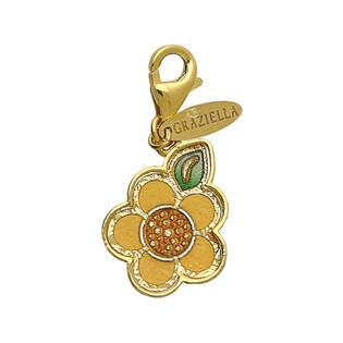 Charms złoty kwiatek kolekcja Graziella nr PF PF137 Sezam - 1