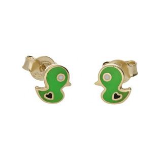 Kolczyki złote kaczuszki nr MX 17EE0010-GR Au 333 Sezam - 1