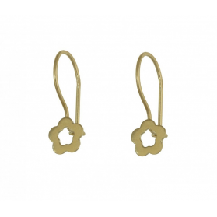 Kolczyki złote dla dziecka lub kobiety nr MZ E0216-19 próba 333 Sezam - 1