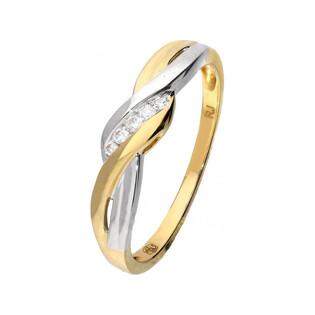 Pierścionek zaręczynowy z diamentami Braid nr RQ 408M Sezam - 1