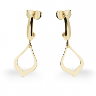 Kolczyki złote łezki wiszące AR 7996 Au 585 Sezam - 1