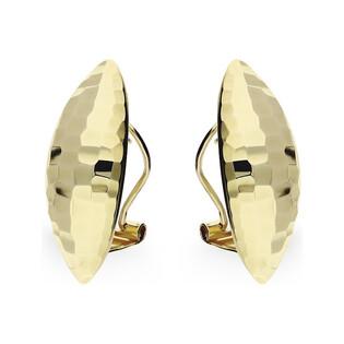 Kolczyki złote migdały ozdobnie grawerowane AR 7807-3 Au 585 Sezam - 1