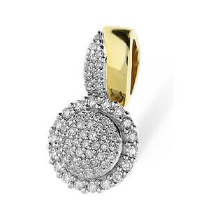 Zawieszka złota MIRAGE z diamentami nr KU 102214-102861 Sezam - 1