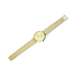 Zegarek męski złoty klasyczny nr OP GENEVE 176 Au 585 Sezam - 1