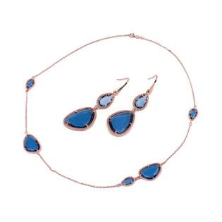 Naszyjnik srebrny nr DV D2753HK0008 BLUE