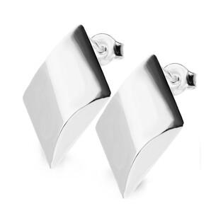 Kolczyki srebrne romby nr SZ SZ008 Sezam - 1