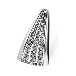 Zawieszka srebrna trójkąt z cyrkoniami nr SZ SZ045 Sezam - 1