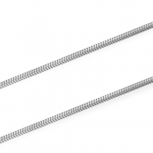 Łańcuszek snake BC 1486-160 ROD próba 925 Sezam - 1