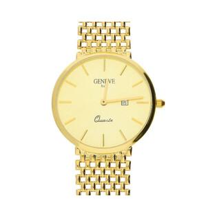 Zegarek złoty unisex PF GENEVE-M 164 Au 585 Sezam - 1