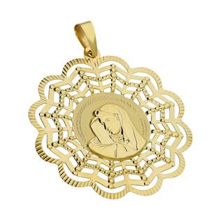 Medalik MB Bolesna okrągła ażur CB M-0707 próba 585