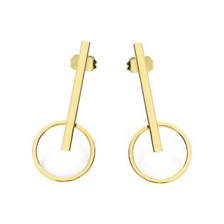 Kolczyki złote wahadło nr AR 10579 AU 585 Sezam - 1
