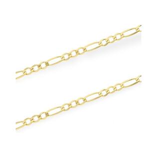 Łańcuszek złoty figaro nr VK GAXPDE 1+3 065 próba 333 Sezam - 1