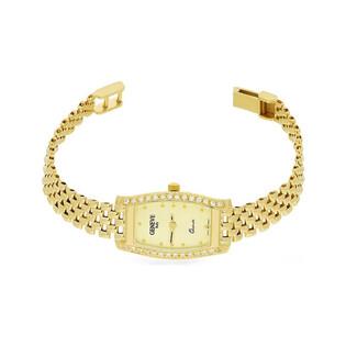 Zegarek złoty z cyrkoniami nr MI GENEVE SM002 Au 585 Sezam - 1