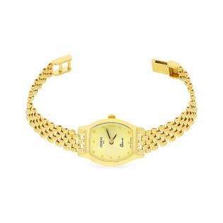 Zegarek złoty beczułka nr MI GENEVE SM003 Au 585 Sezam - 1