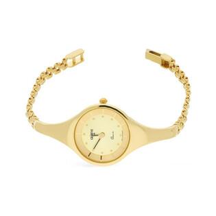 Zegarek złoty okrągły nr MI GENEVE SM012 Au 585 Sezam - 1