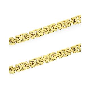 Łańcuszek złoty typu bizantyna dm AR 9899 próba 585 Sezam - 1
