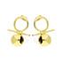 Kolczyki złote kule na sztyft nr AR 10546 AU 585