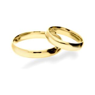 Obrączka złota gładka ZI A3 NOW OG3 próba 333 Sezam - 1