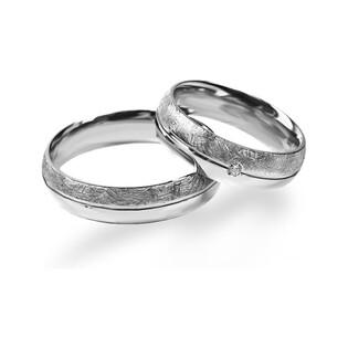 Obrączka srebrna partnerska nr ME OSA 016T Sezam - 1