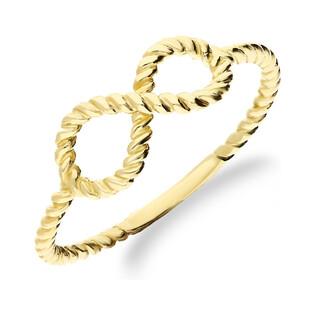 Pierścionek infinity-szyna sznur AR 5936 próba 333 Sezam - 1
