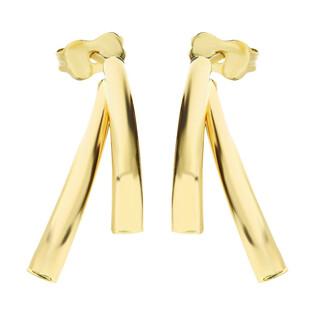 Kolczyki złote na sztyft AR X3TE10235 próba 585 Sezam - 1