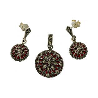 Kolczyki srebrne z kolekcji Art Deco numer BB MLKK0302 Sezam - 1