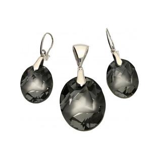 Kolczyki z kryształem Kaputt nr KP 05445 Sezam - 1
