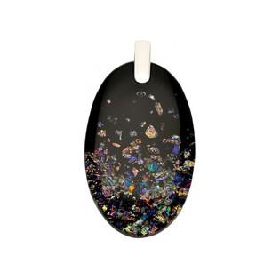 Zawieszka owalna wykonana ze szkła Murano numer KQ R712 Murano - 1