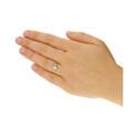 Pierścionek złoty zaręczynowy z diamentem UNICO Magic NF JRI-566 próba 375 Sezam - 1