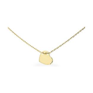 Naszyjnik złoty rolo z sercem nr AR VX3FOR7N0745-DC Au 585