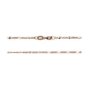 Łańcuszek złoty typu figaro na FL GADEBC 1+3 040 próba 585