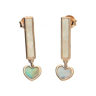 Kolczyki srebrne z kolekcji Simple numer TA ORT6150 Rose KK
