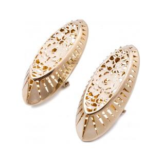Kolczyki złote z kolekcji Ricamo nr FL FL 006 próba 585