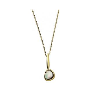 Naszyjnik złoty z labradorytem nr FL FL040-N próba 585