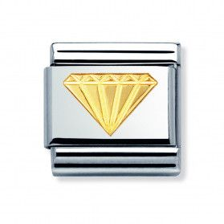 Element link 18K diament NP 030115 03