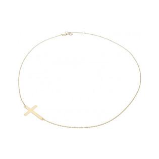 Naszyjnik złoty z krzyżykiem nr AR X6FOR6N0193 próba 375