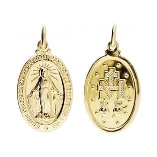 Medalik złoty z wizerunkiem Matki Boskiej Niepokalanej nr CB M-0926 próba 585