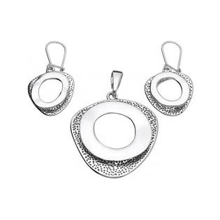 Kolczyki srebrne nr UN 692 j.oksyda