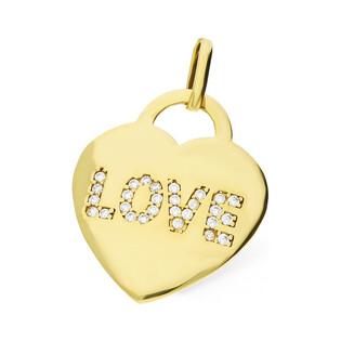 Serduszko serce blask napis LOVE z cyrkoni AR 2948-FCZ próba 333