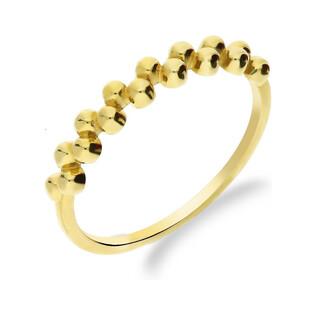 Pierścionek złoty kulki rings nr AR XXAR6291 próba 333