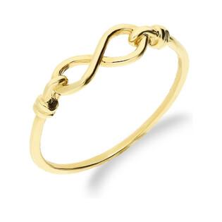Pierścionek złoty nieskończoność nr AR XXAR5640 próba 333