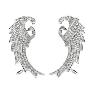 Kolczyki na płatek skrzydła m.pave/nauszn OA J0561 próba 925